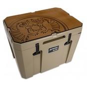 Petromax  Koelbox beschermer bruin met Dragon logo KX50
