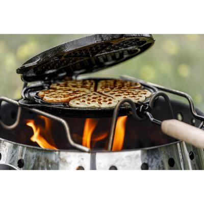 Petromax  Roterende wafel ijzer