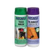 Nikwax Tech Wash & tx Direct Twin Pack 300 ml ml