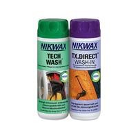 Nikwax Tech Wash & tx Direct Twin Pack 300 ml