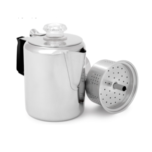 GSI Outdoors Glacier Stainless Percolator 6 cup