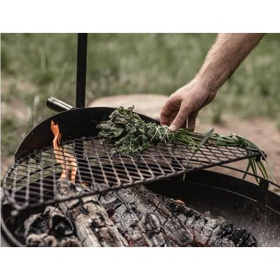Barebones Cowboy Fire Pit Grill Grate  small