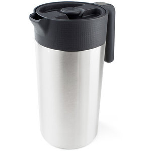 GSI Outdoors Glacier Stainless Java Koffiepers, zilver