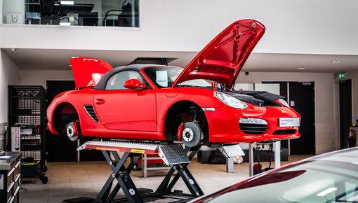 Porsche wielensets en accessoires