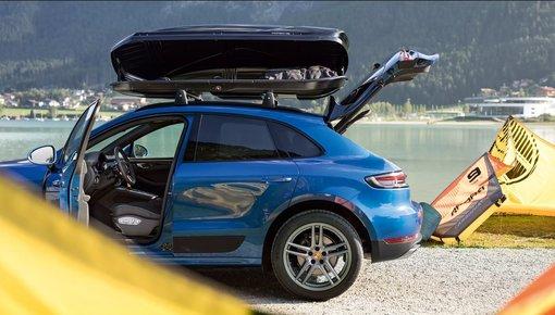 Porsche transport onderdelen
