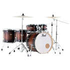 Pearl Decade Maple Satin Brown Burst - 6pc