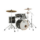 Pearl Decade Maple Satin Black Burst - 5pc - Studio