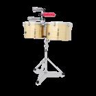 Latin Percussion LP1516-B Thunder Timbales - Brass