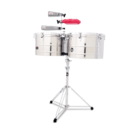 Latin Percussion LP1516-S Thunder Timbales - Steel