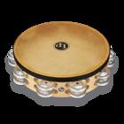 """Latin Percussion LP384-AL Pro 10"""" Double Row Headed Tambourine"""