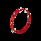 """Meinl Nino NINO49R - Compact Tambourine - 8"""" - Red"""