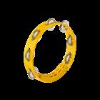 """Meinl Nino NINO49Y - Compact Tambourine - 8"""" - Yellow"""