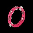 """Meinl Nino NINO49SP - Compact Tambourine - 8"""" - Strawberry Pink"""