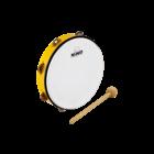 """Meinl Nino NINO24Y - ABS Tambourine - 10"""" - Yellow"""