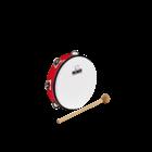 """Meinl Nino NINO51R - ABS Tambourine - 8"""" - Red"""