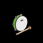 "Meinl Nino NINO51GG - ABS Tambourine - 8"" - Green"