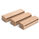 WB823H - Woodblock - Set of 3 with holders