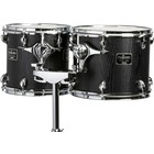 "MCTC0608D - Concert Tom - 6"" - Double head - Black"