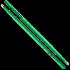 Zildjian 5A - Neon Green - Acorn Tip