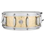"""Gretsch Snare Drum - 14"""" x 5"""" - Hammered Brass"""