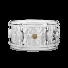 "Gretsch Snare Drum - 13"" x 6"" - Hammered Chrome over Brass"