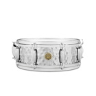 "Gretsch Snare Drum - 14"" x 5"" - Hammered Chrome over Brass"