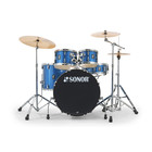 Sonor AQX - Stage Setup - Blue Ocean Sparkle