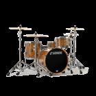 Sonor ProLite Shell Set - 320 - Chocolate Burl - No Mount