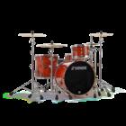 Sonor ProLite Shell Set - 322 - Fiery Red - No Mount