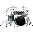Mapex Saturn - Studio Set-up - 4pc - Teal Blue Fade