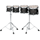 "Tama Concert Tom Set - 06"", 08"", 10"", 12"" - CCLT4HTPB - Double Headed"