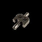 Meinl  SB501 - Kinetic Key - Nickel Plated Black