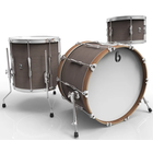 British Drum Company LON-18-CB-KC - Lounge Club - 3pc - Kensington Crown