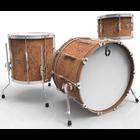 British Drum Company LON-20-CB-IB - Lounge Club - 3pc - Iron Bridge