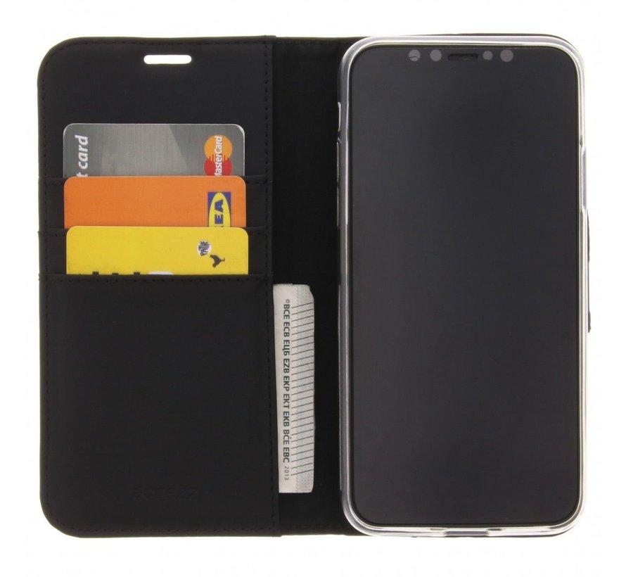 Accezz Wallet iPhone X Zwart