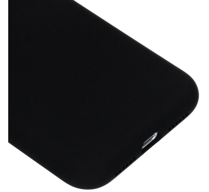 Accezz Siliconen Case Liquid iPhone X Zwart