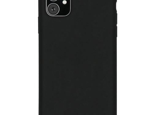 Accezz Accezz Liquid Siliconen Case iPhone 11 Zwart