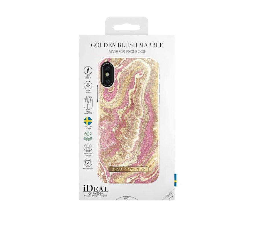 iDeal Fashion Hardcase Golden Blush iPhone X/Xs