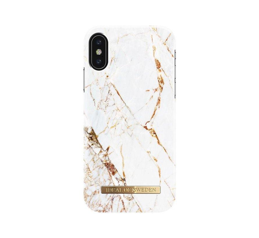 iDeal Fashion Hardcase Carrara Gold iPhone X/Xs
