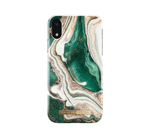 iDeal of Sweden iDeal Fashion Hardcase Golden Jade Marble iPhone XR