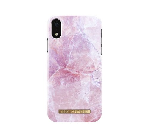 iDeal of Sweden iDeal Fashion Hardcase Pilion Pink Marble iPhone XR