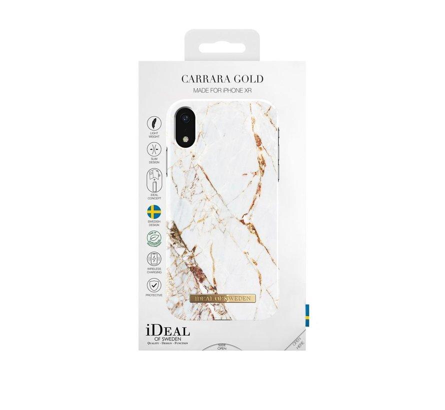 iDeal Fashion Hardcase Carrara Gold iPhone XR