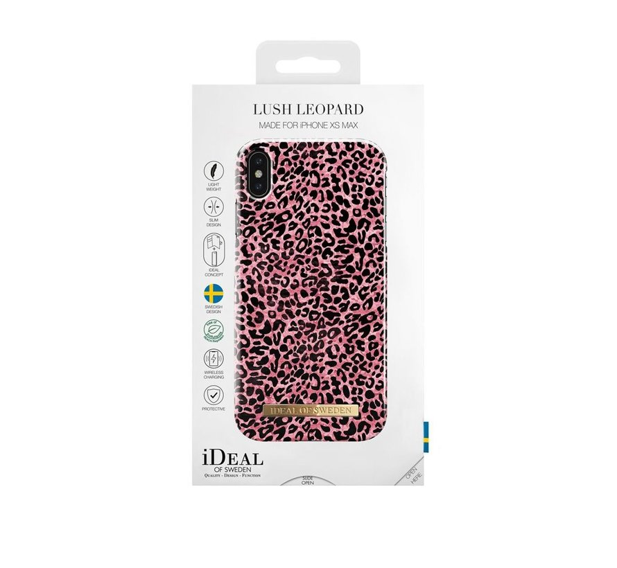 iDeal Fashion Hardcase Lush Leopard iPhone Xs Max