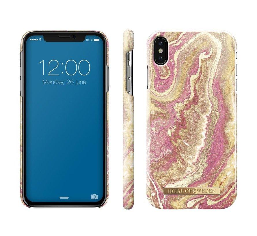 iDeal Fashion Hardcase Golden Blush iPhone Xs Max