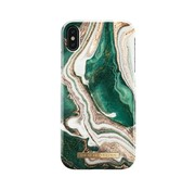 iDeal of Sweden iDeal Fashion Hardcase Golden Jade Marble iPhone Xs Max