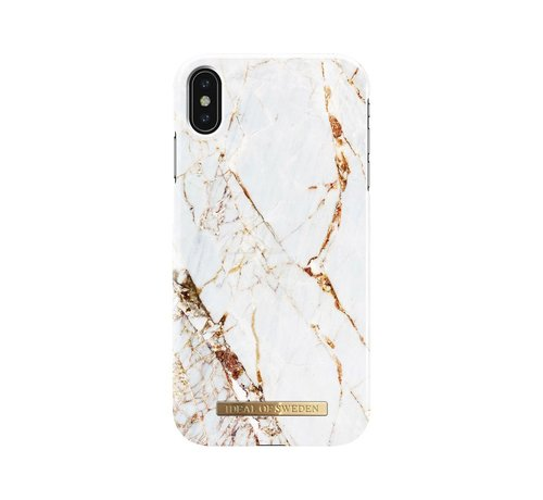 iDeal of Sweden iDeal Fashion Hardcase Carrara Gold iPhone Xs Max