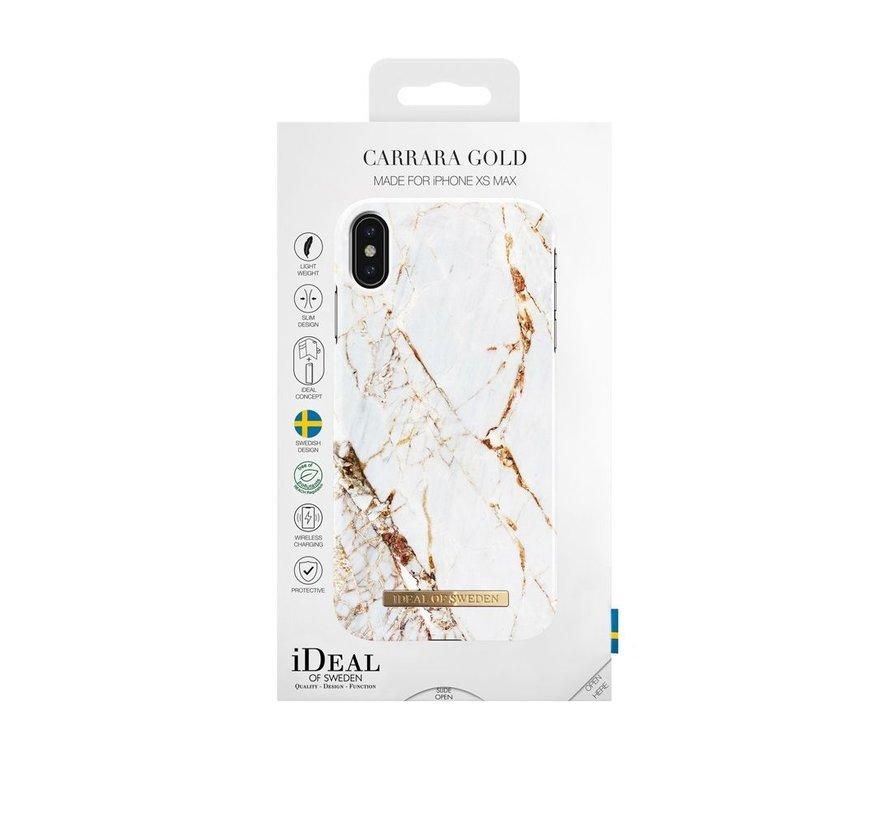 iDeal Fashion Hardcase Carrara Gold iPhone Xs Max