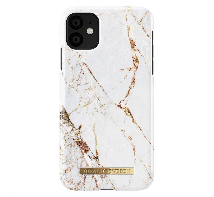 iDeal Fashion Hardcase Carrara Gold iPhone 11