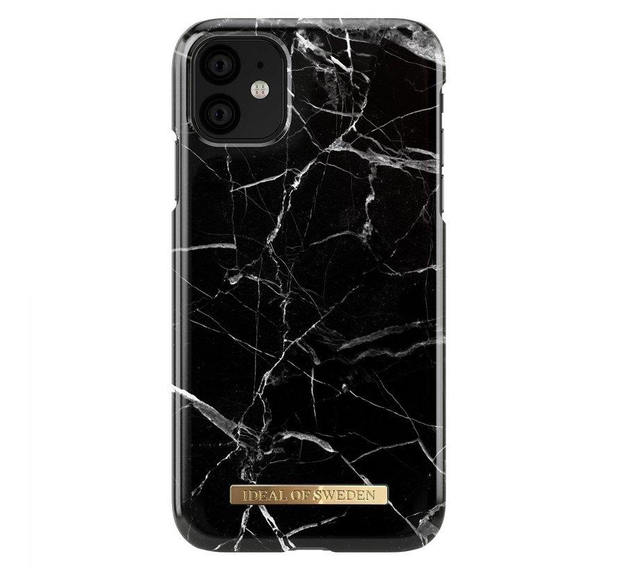 iDeal Fashion Hardcase Black Marble iPhone 11