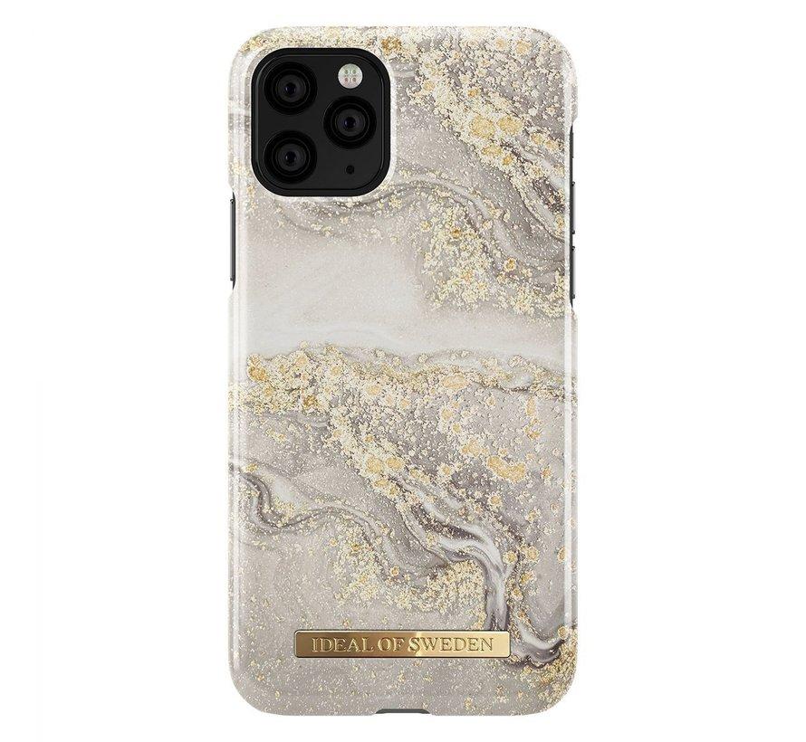 iDeal Fashion Hardcase Sparkle Greige Marble iPhone 11 Pro